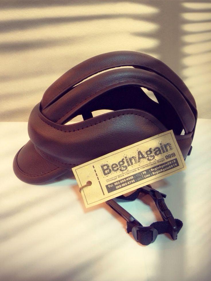 Vintage Bike Helmets by BeginAgain0919 ID: BG03