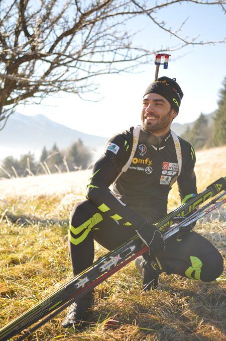Simon Fourcade, Biathlon