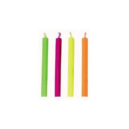 "Neon Triangle ""Trick"" Sparkler Candles 