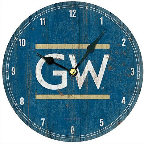 Product George Washington University Retro Wall Clock