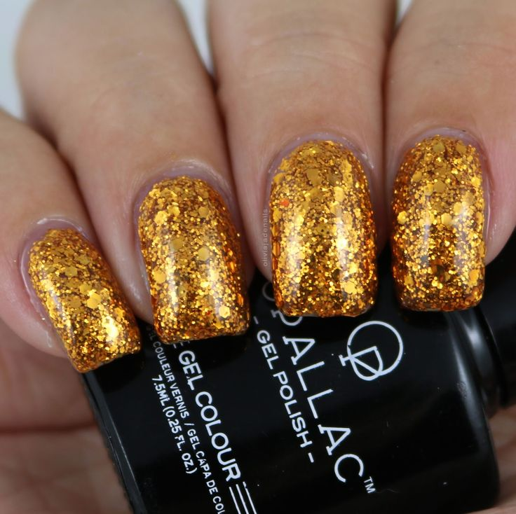Opallac Gel Polish 24 Carats swatched by Olivia Jade Nails