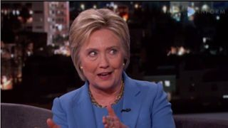 """Democratic primary front-runner Hillary Clinton ran afoul of both the pro-life and pro-choice sides of the abortion debate Sunday when she said constitutional rights do not apply to an """"unborn person"""" or """"child."""""""