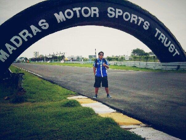 Madras international circuit - india