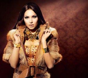 vintage bont jurk jas