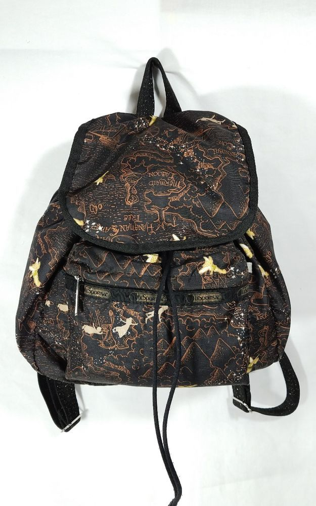Disney Lesportsac Edie backpack Tink Neverland Peter Pan purse  LeSportsac