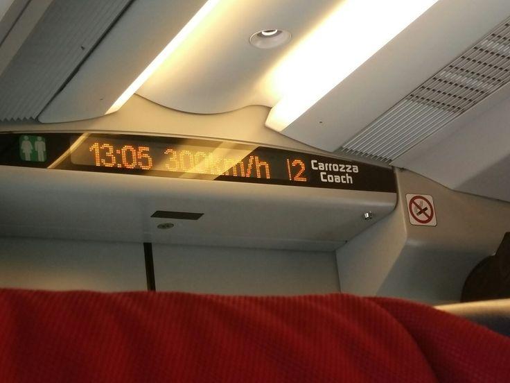 On Italo train