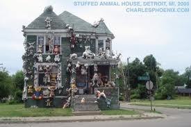 Detroit stuffed animal house