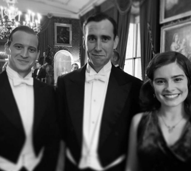Behind The Scenes Nicholas Ralph Matthew Lewis Rachel Shenton In Pbs Masterpiece All Creatures Great Small From Ameh Matthew Lewis Scenes Rachel Shenton