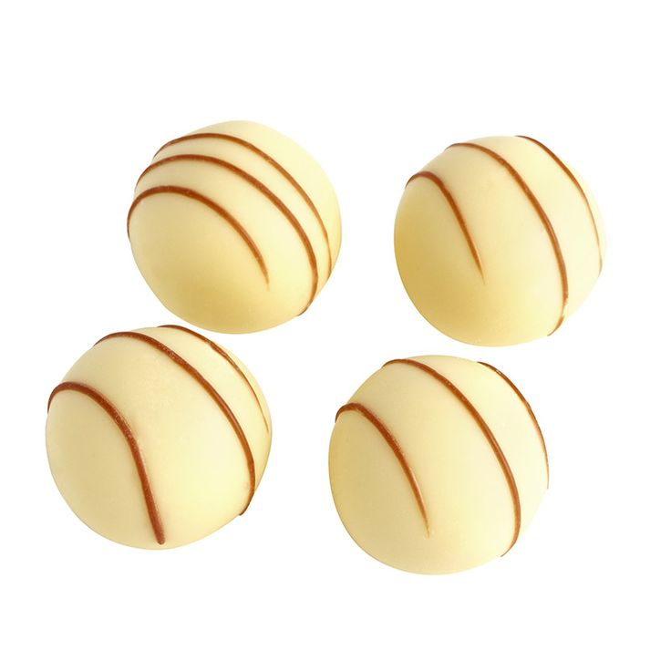 Beyaz Çizgili Truffle Çikolata Cikolata Sekerleme Draje Badem Şekeri Harfli Çikolata Mesajlı Çikolata Butik Pasta Lokum Reçel Helva
