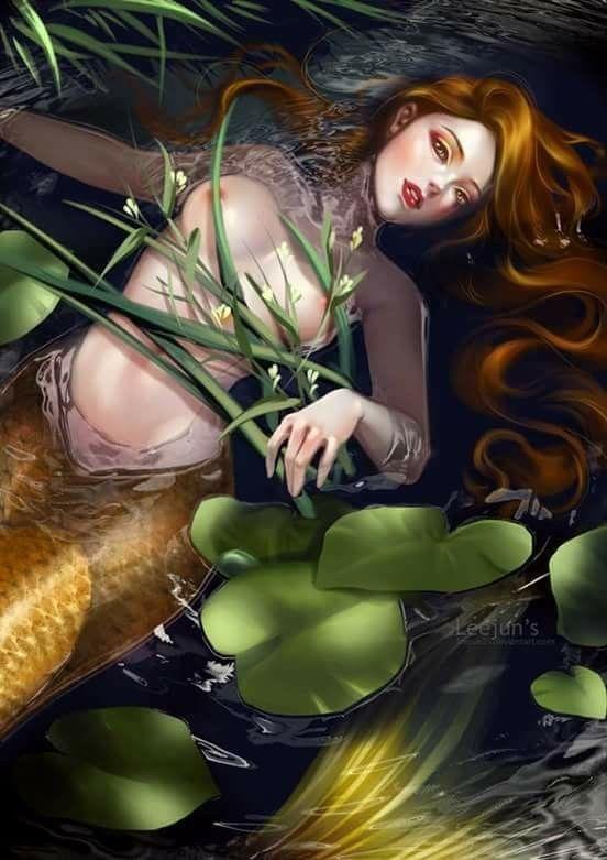 Mermaid by leejun35 • https://leejun35.deviantart.com/art/Mermaid-727113367