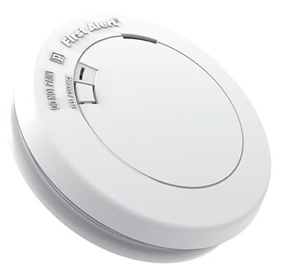First Alert 10-Year Sealed Lithium Battery-Powered Combination Smoke and Carbon Monoxide Detector Photoelectric Sensor