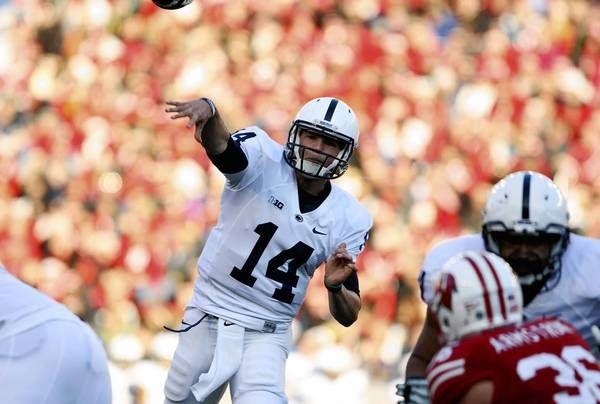 PENN STATE – FOOTBALL 2013 – Penn State quarterback Christian Hackenberg had a solid season as a freshman. (Mary Langenfeld, USA Today…)