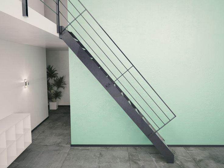 echelle de meunier design en m tal. Black Bedroom Furniture Sets. Home Design Ideas