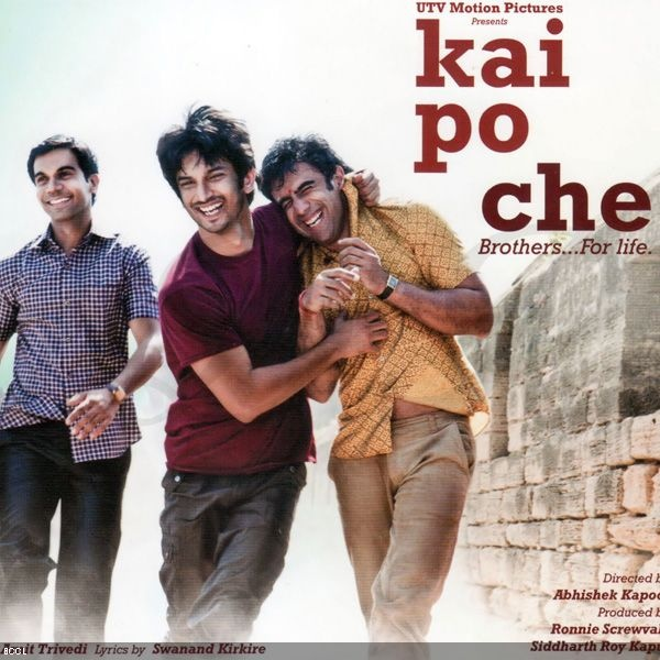 Kai Po Che | Bolly Adaptations - Books To Cinema