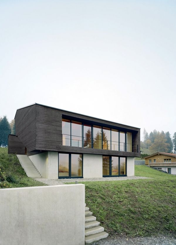 8 best Timber House images on Pinterest | Board and batten siding ...