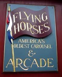 Flying Horses Carousel, Oak Bluffs, Martha's Vineyard