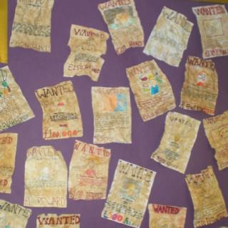James and the Giant Peach - Wanted poster - Aunts Perspective