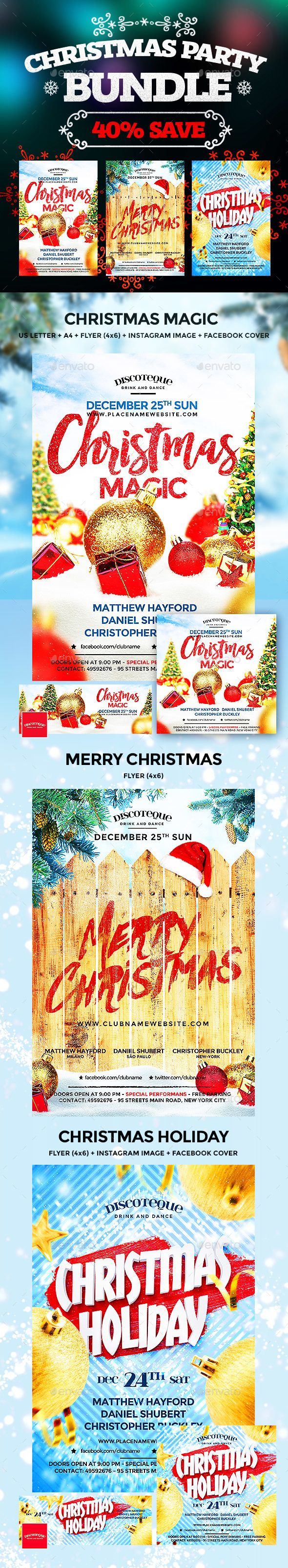 Best Christmas Images On   Party Flyer Flyer Design