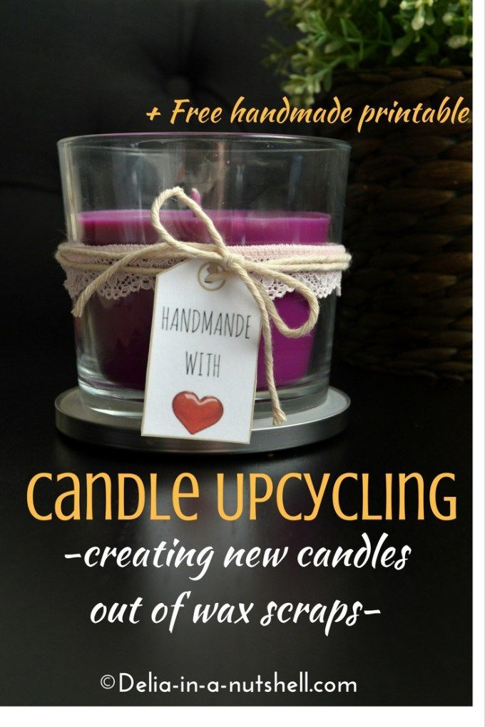 How to create new candles from wax scraps Candle upcycling |diy | recycle | reuse | upcycled home decor | candle making |