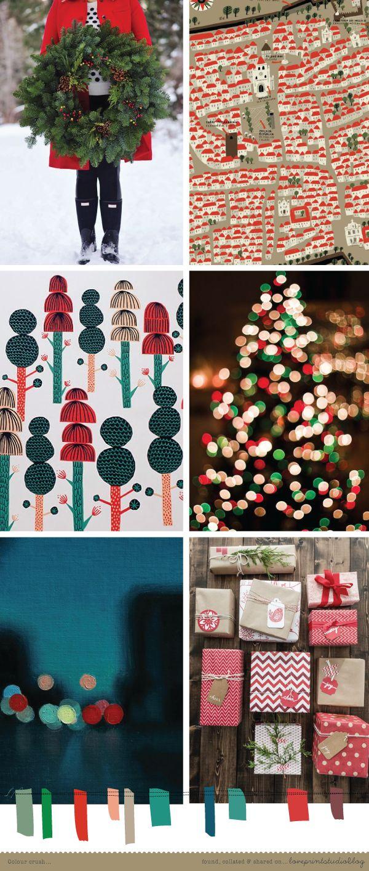 love print studio blog: A Christmas colour crush...