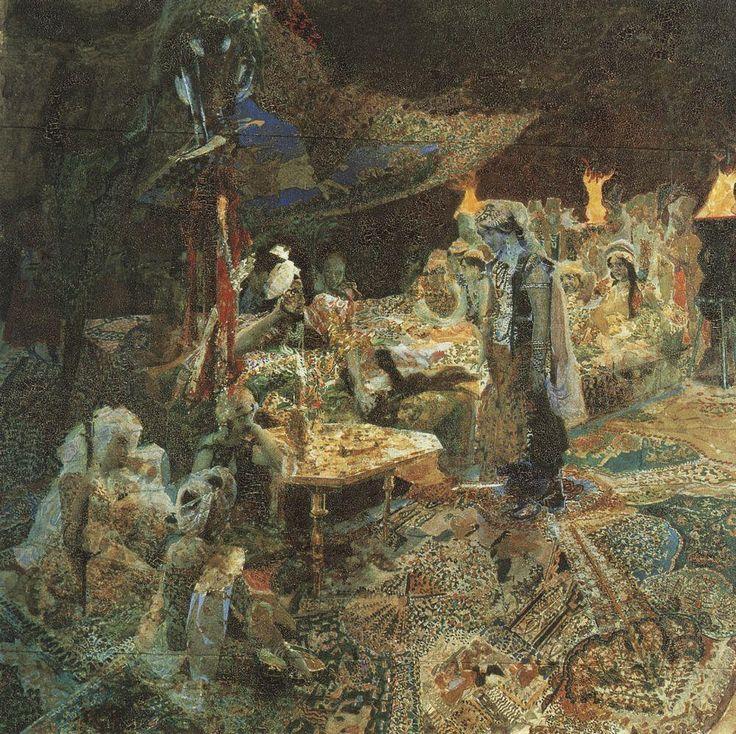 Михаил Врубель - Восточная сказка. 1886