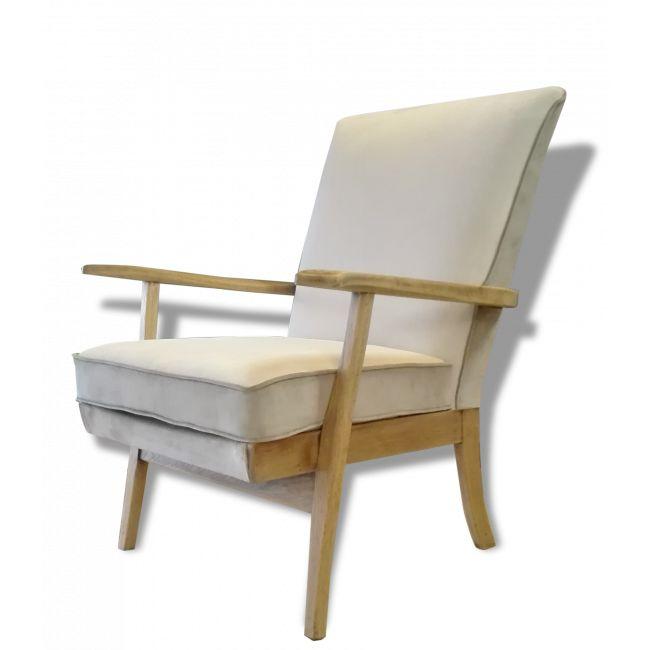 Paire de fauteuils KNOLL modéle Parkers vendu par M.M - Saint Ouen (93 - Seine-Saint-Denis). Hauteur : 85, Largeur : 70, Profondeur : 70, État : Bon état, Materiau : Bois, Style : Scandinave, Couleur : Argent