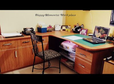 HappyMomentzz crafting by Sharada Dilip: My Home Studio / Office