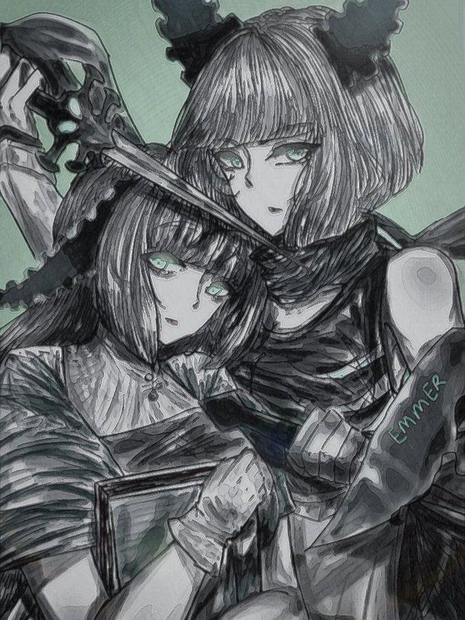 Adult Silvina And Isabella In 2020 Afk Fantasy Art Fantasy