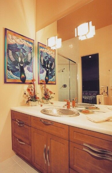 Best 25 commercial bathroom ideas ideas on pinterest for Funky bathroom vanities