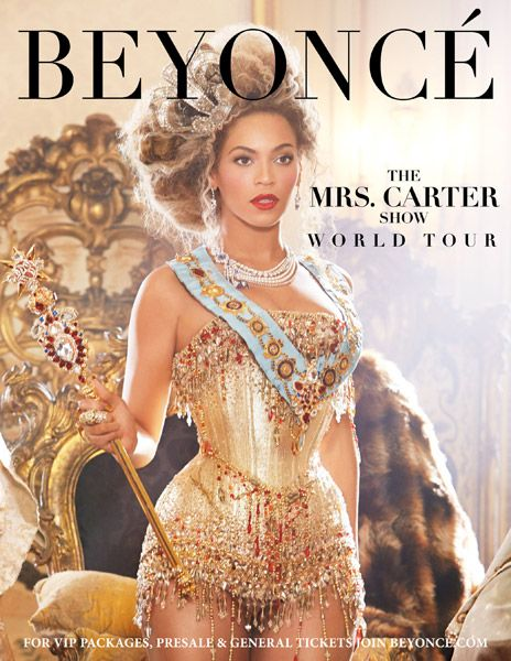 "Beyoncé Officially Announces Dates for ""The Mrs. Carter Show World Tour"""