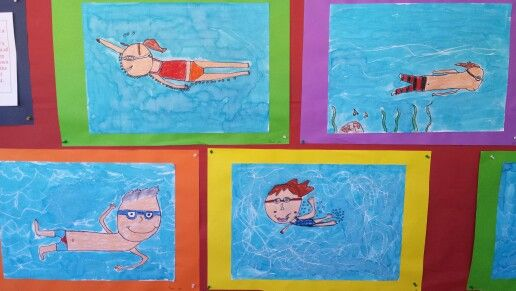 The Pool by Grade Three.