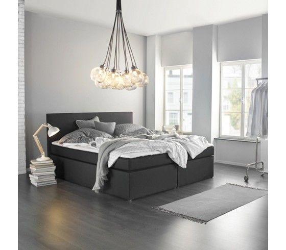 die 25+ besten boxspringbett elektrisch ideen auf pinterest - Beispiele Modernes Wohnen Schlafzimmer Boxspringbett Leder