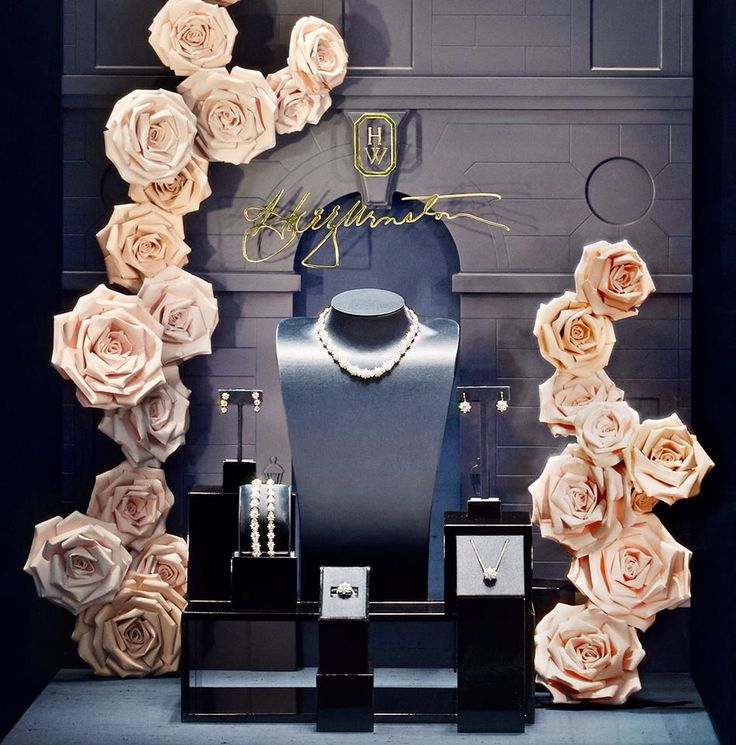 108 best jewelry display mannequins images on pinterest for Jewelry store window displays