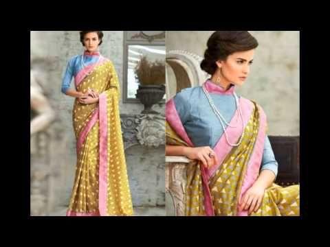 Unique Designer Saree Blouse Neck Designs