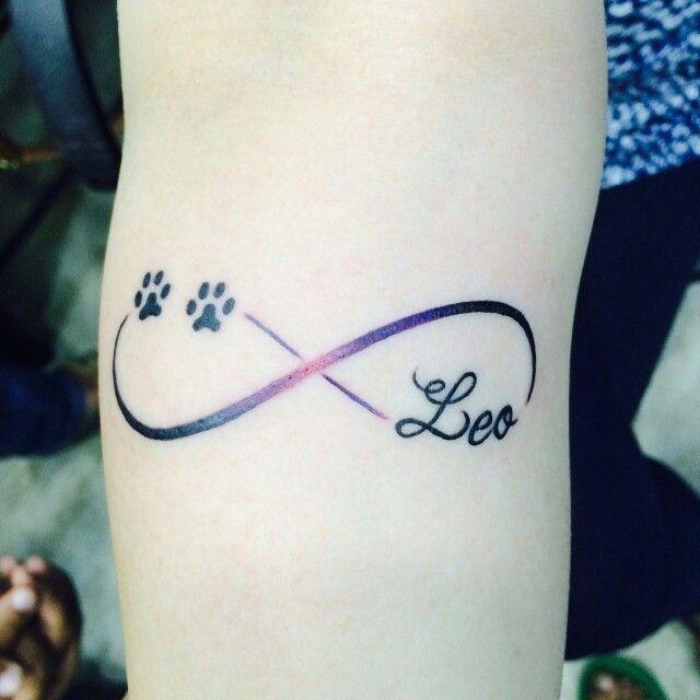 Memorial Tattoo Infinity Paw Print: Tattoos, Animal Tattoos, Dog