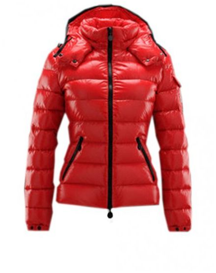 Top Sell Moncler Bady Women Down Jacket Zip Hooded Red - :