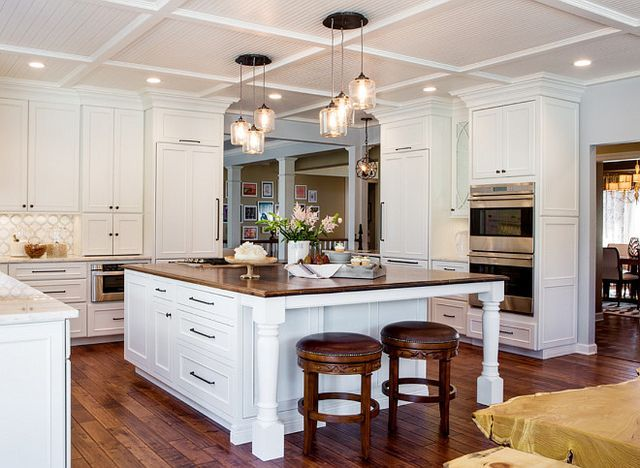 High Quality Large Kitchen Cabinet Layout Ideas