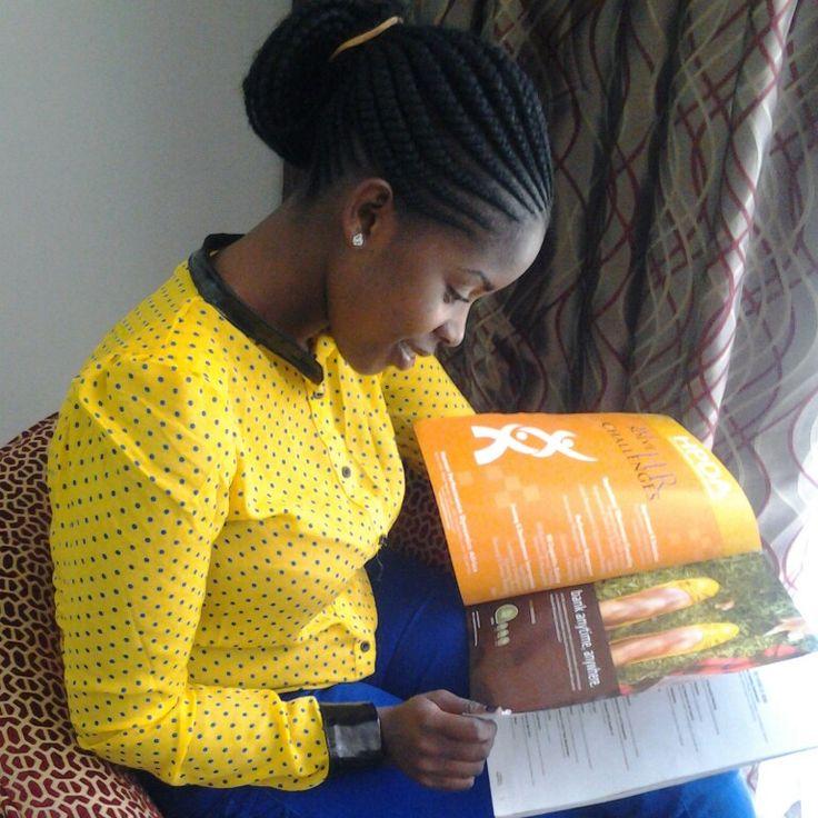 Ghanian Cornrows On A Kenyan Girl So Neat N Simple