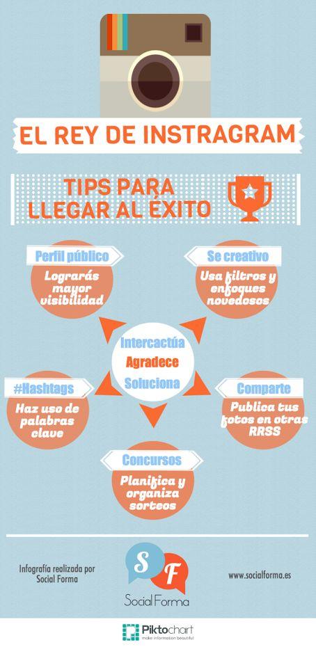Tips para llegar al éxito en Instagram. Estrategia de redes sociales para promocionar tu pequeño negocio. #arteparaempresa