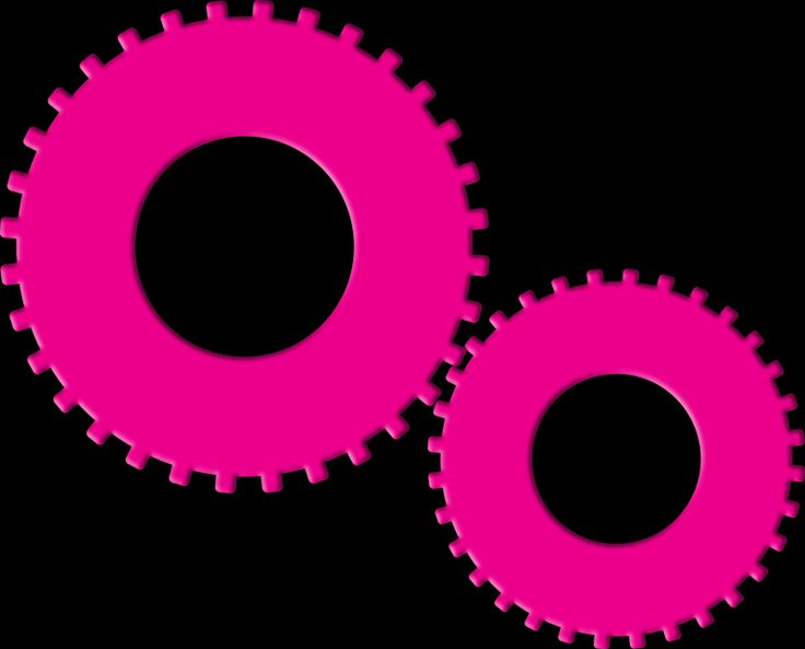 Gears (Pure Magenta) 2014 Collection  -  © stampfactor.com