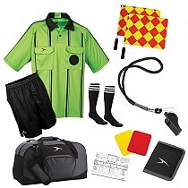 10 piece Soccer Referee Uniform. Pro Elite 2025 Package. Save over 30% over buying separately. $56.95