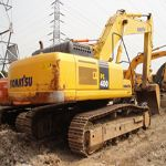 Komatsu excavator PCD155A is one of good condition machine used widely in construction area. When it works, ...