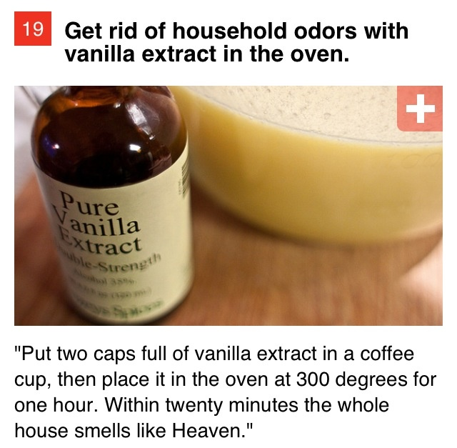 How to make your house smell delicious!