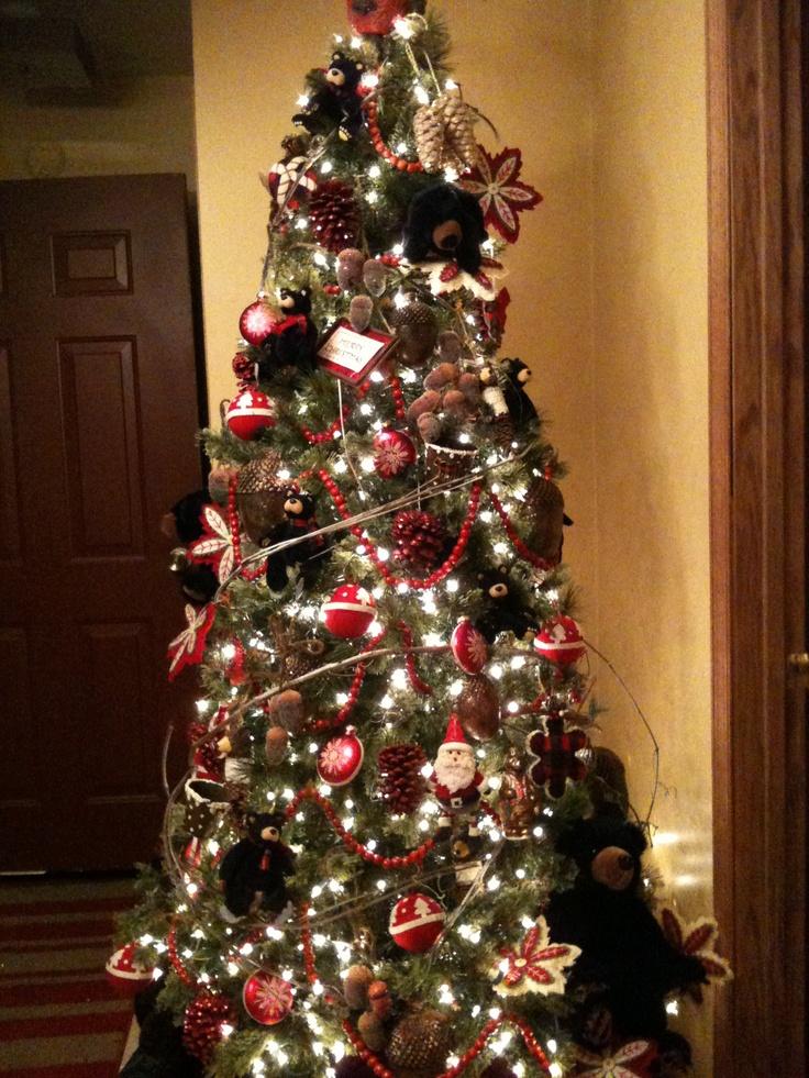 black bear christmas tree - Bear Christmas Tree
