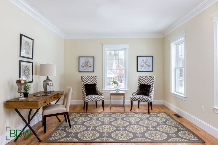 Bright Clean Living Room Georgetown Machusetts Boston Real Estate Photography Picture Informer