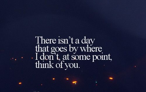 Thinking of you quote | My life