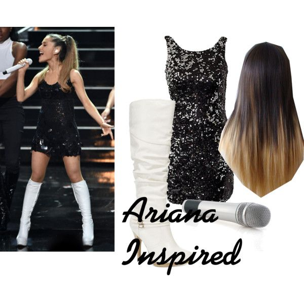 Ariana Inspired by sophee-xoxo on Polyvore featuring Style & Co. and Sennheiser