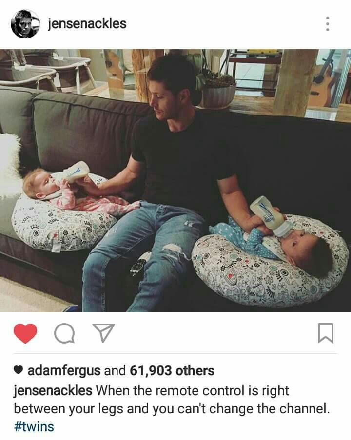 ~Hey Gorgeous~ I'm so happy for them! PS they picked awesome names for their kids. Zeppelin Bram and Arrow Rhodes.