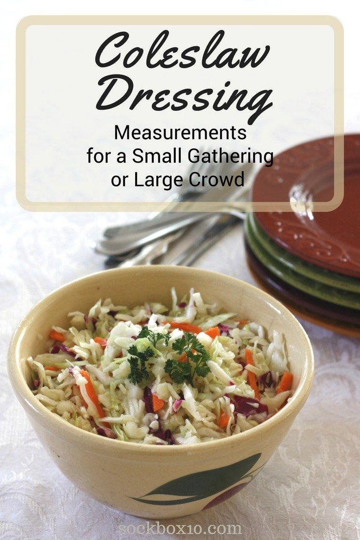 Recipe for Coleslaw Dressing sockbox10.com