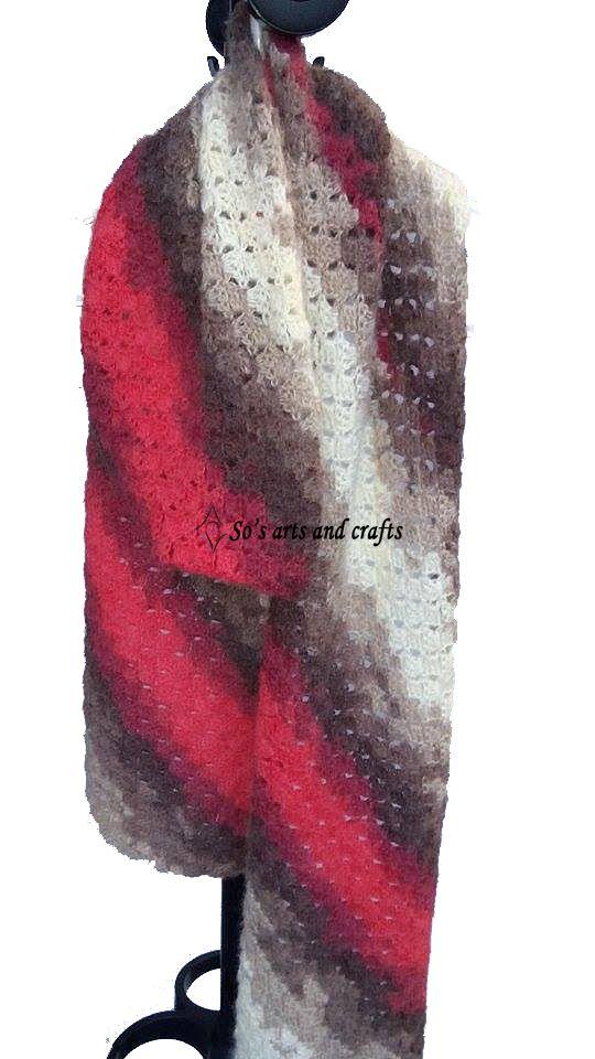 Patern: diagonal crochet